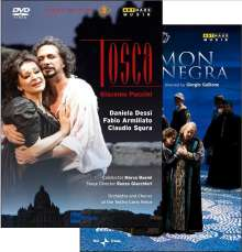 Giacomo Puccini (1858-1924): Tosca, 2 DVDs