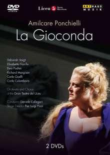 Amilcare Ponchielli (1834-1886): La Gioconda, 2 DVDs