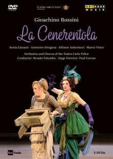 Gioacchino Rossini (1792-1868): La Cenerentola, 2 DVDs
