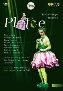 Jean Philippe Rameau (1683-1764): Platee, 2 DVDs
