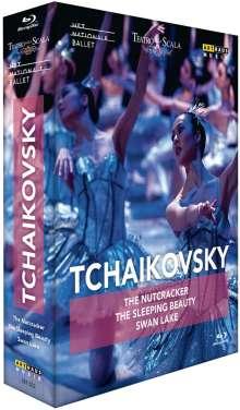 Tschaikowsky - Die drei Ballette, 3 Blu-ray Discs