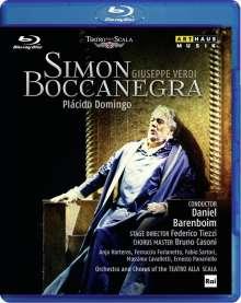 Giuseppe Verdi (1813-1901): Simon Bocccanegra, Blu-ray Disc