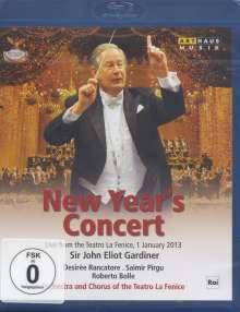 Neujahrskonzert 2013 (Teatro la Fenice) mit John Eliot Gardiner, Blu-ray Disc