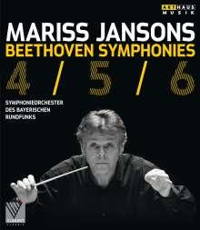 Ludwig van Beethoven (1770-1827): Symphonien Nr.4-6, Blu-ray Disc