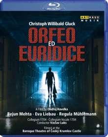 Christoph Willibald Gluck (1714-1787): Orpheus & Eurydike, Blu-ray Disc