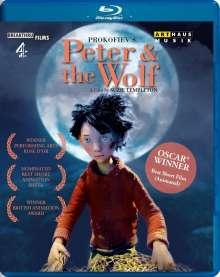 Serge Prokofieff (1891-1953): Filmmusik: Peter und der Wolf op.67 (Animationsfilm), Blu-ray Disc