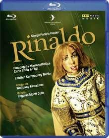 Georg Friedrich Händel (1685-1759): Rinaldo (Marionettentheater), 1 Blu-ray Disc und 2 CDs