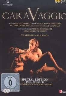 Staatsballett Berlin: Caravaggio (Special Edition mit CD), 1 DVD und 1 CD