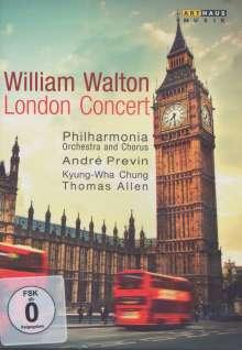William Walton (1902-1983): William Walton - London Concert, DVD