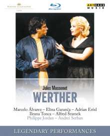 Jules Massenet (1842-1912): Werther, Blu-ray Disc