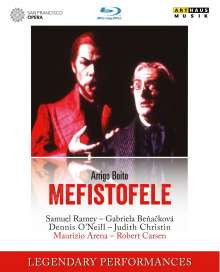 Arrigo Boito (1842-1918): Mefistofele, Blu-ray Disc