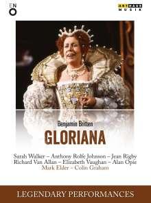 Benjamin Britten (1913-1976): Gloriana, DVD