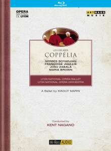 Lyon Opera Ballet: Coppelia (Delibes), Blu-ray Disc