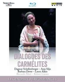 Francis Poulenc (1899-1963): Dialogues des Carmelites, Blu-ray Disc
