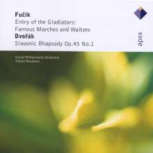 Julius Fucik (1872-1916): Ouvertüren, Walzer, Märsche, CD
