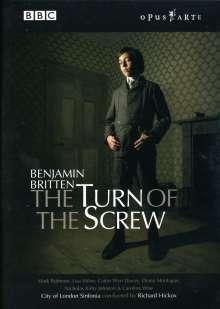 Benjamin Britten (1913-1976): The Turn of the Screw op.54 (Opernverfilmung), DVD