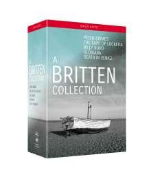 Benjamin Britten (1913-1976): A Britten Collection - 5 Opern auf DVD, 6 DVDs