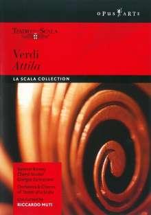 Giuseppe Verdi (1813-1901): Attila, DVD