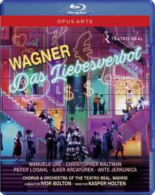 Richard Wagner (1813-1883): Das Liebesverbot, Blu-ray Disc