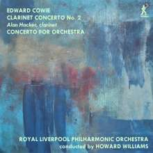 Edward Cowie (geb. 1943): Concerto for Orchestra, CD