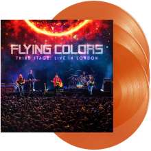 Flying Colors: Third Stage: Live In London (180g) (Orange Vinyl), 3 LPs