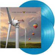 Flying Colors: Second Nature (Reissue) (180g) (Light Blue Vinyl), 2 LPs