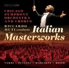 Riccardo Muti - Italian Mastersworks, CD