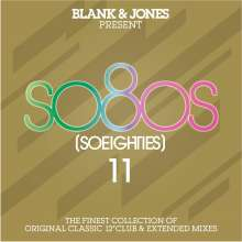 Blank & Jones: Present So80s 11 (So Eighties), 2 CDs