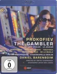 Serge Prokofieff (1891-1953): Der Spieler, Blu-ray Disc
