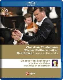 Ludwig van Beethoven (1770-1827): Discovering Beethoven (Symphonien Nr.4-6), Blu-ray Disc