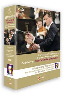Ludwig van Beethoven (1770-1827): Discovering Beethoven (Symphonien Nr.1-9), 9 DVDs