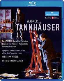 Richard Wagner (1813-1883): Tannhäuser, Blu-ray Disc