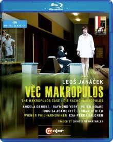 Leos Janacek (1854-1928): Die Sache Makropulos, Blu-ray Disc