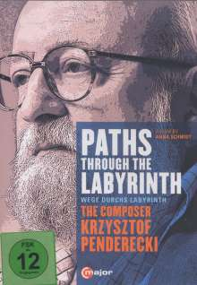 Krzysztof Penderecki (1933-2020): Paths Through The Labyrinths - The Composer Krzysztof Penderecki (Dokumentation), DVD