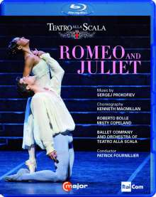 Ballett der Mailänder Scala:Romeo & Julia, Blu-ray Disc