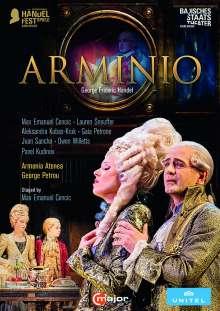 Georg Friedrich Händel (1685-1759): Arminio, 2 DVDs