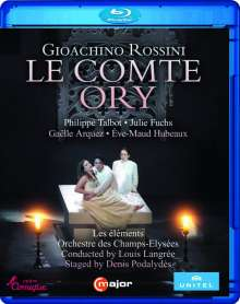 Gioacchino Rossini (1792-1868): Le Comte Ory, Blu-ray Disc