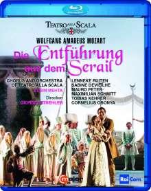 Wolfgang Amadeus Mozart (1756-1791): Die Entführung aus dem Serail, Blu-ray Disc