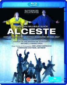 Christoph Willibald Gluck (1714-1787): Alceste (französische Fassung), Blu-ray Disc
