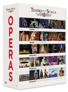 Teatro alla Scala Opera Box, 8 DVDs