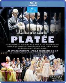 Jean Philippe Rameau (1683-1764): Platee, Blu-ray Disc