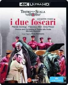 Giuseppe Verdi (1813-1901): I due Foscari (4K Ultra-HD), Ultra HD Blu-ray