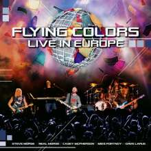 Flying Colors: Live In Europe, 2 CDs