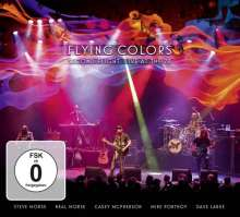 Flying Colors: Second Flight: Live At The Z7, 2 CDs und 1 DVD