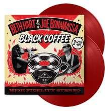 Beth Hart & Joe Bonamassa: Black Coffee (180g) (Limited Edition) (Red Vinyl), 2 LPs