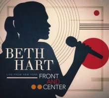 Beth Hart: Front And Center: Live From New York, 1 CD und 1 DVD