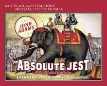 John Adams (geb. 1947): Absolute Jest für Streichquartett & Orchester, Super Audio CD