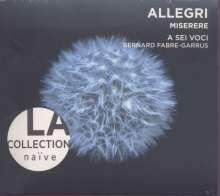 Gregorio Allegri (1582-1652): Missa Vidi Turbam Magnam, CD