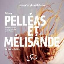 Claude Debussy (1862-1918): Pelleas und Melisande, 3 Super Audio CDs und 1 Blu-ray Audio