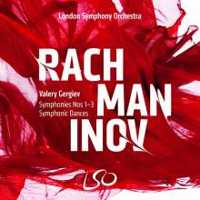 Sergej Rachmaninoff (1873-1943): Symphonien Nr.1-3, 3 Super Audio CDs und 1 Blu-ray Audio